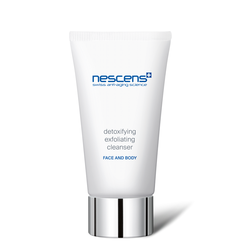 Detoxifying exfoliating cleanser - face and body - NS131