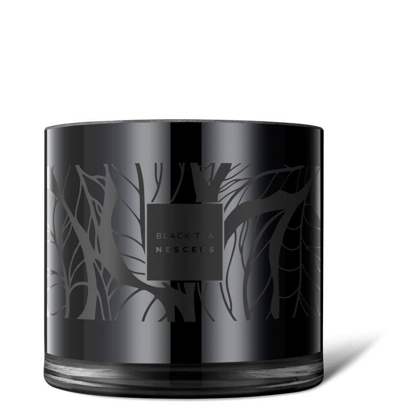 Limited edition black tea - scented candle XL - NSP-BGC01-XL