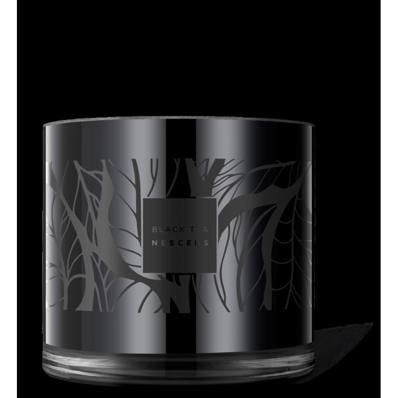 Édition limitée black tea – bougie parfumée XL - NSP-BGC01-XL